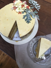 lemon holiday cake